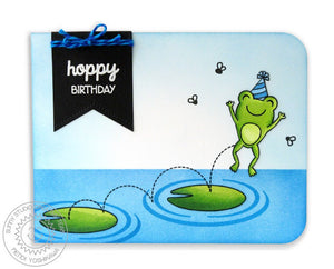 Sunny Studio - FROGGY FRIENDS - Dies Set - Hallmark Scrapbook - 5