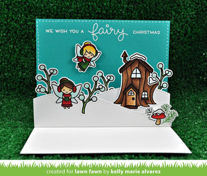 Lawn Fawn - FROSTY FAIRY FRIENDS - Lawn Cuts DIES - Hallmark Scrapbook - 3