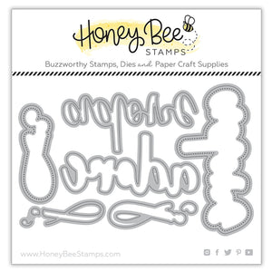 Honey Bee - ADORE - Dies Set