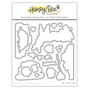 Honey Bee - LOADS OF LOVE - Dies Set