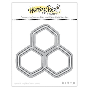 Honey Bee - HONEYCOMB - Dies Set