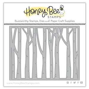 Honey Bee - Birch A2 Cover Plate BASE - Dies set
