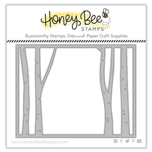 Honey Bee - Birch A2 Cover Plate TOP - Dies set