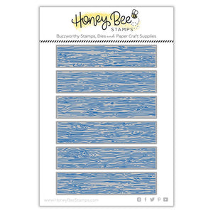 Honey Bee - BARN WOOD PLANKS - Die Set