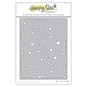 Honey Bee Stamps - FLOWER Petal CENTERS Cover Plate BASE - Die