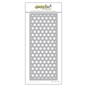 Honey Bee - Hexi Slimline Cover Plate: TOP - Die Set
