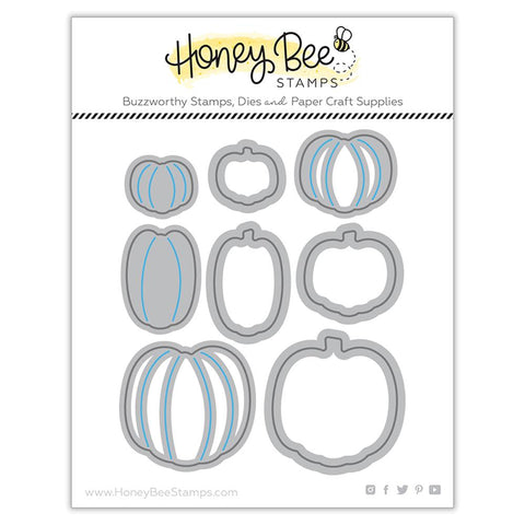 Honey Bee - ITTY BITTY PUMPKINS - Die Set