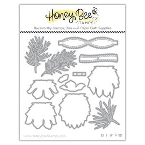 Honey Bee - LOVELY LAYERS PINECONE - Dies set