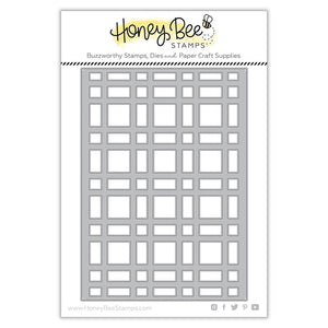 Honey Bee - Plaid A7 Cover Plate BASE - Dies set