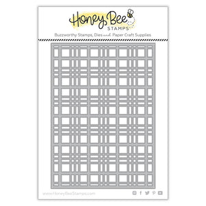 Honey Bee - Plaid A7 Cover Plate TOP - Dies set