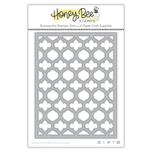 Honey Bee - QUATREFOIL A2 Cover Plate TOP - Die
