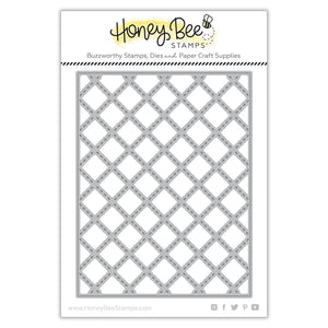 Honey Bee - QUILTED A2 Cover Plate - Die