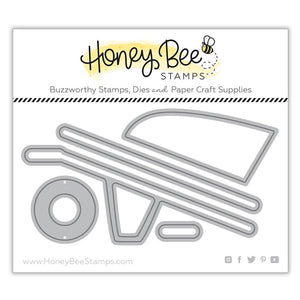 Honey Bee - WHEELBARROW - Die Set