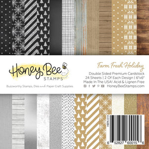 Honey Bee - FARM FRESH HOLIDAY - Paper Pad 6x6