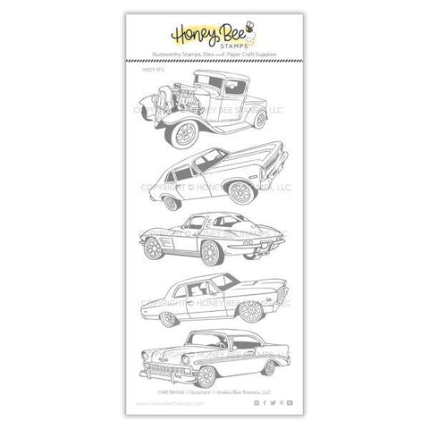 Honey Bee Stamps - CAR SHOW - Stamp Set