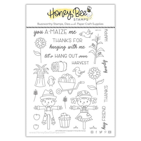 Honey Bee - LETS HANG OUT - Stamp Set