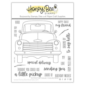 Honey Bee - BIG PICKUP CAB - Stamp Set