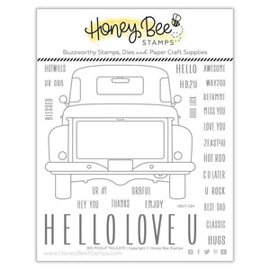 Honey Bee - BIG PICKUP TAILGATE - Stamp Set
