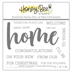 Honey Bee - HOME - Stamp Set