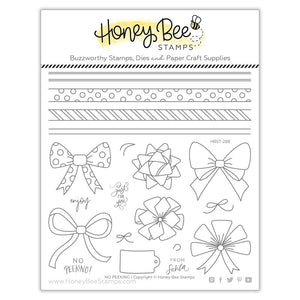 Honey Bee - NO PEEKING - Stamp Set