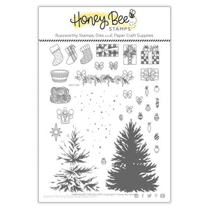 Honey Bee - FARMHOUSE TREE BUILDER - Stamp Set