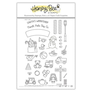 Honey Bee - TOY STORE HOUSE BUILDER ADD-ON - Stamp Set