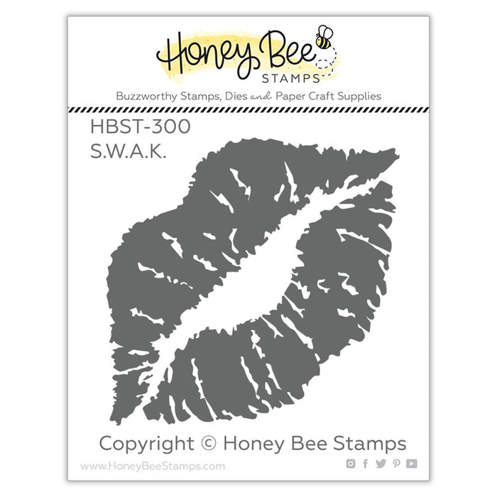 Honey Bee - S.W.A.K. - Stamp