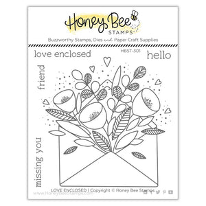 Honey Bee - PRETTY POSTAGE - Stamps set