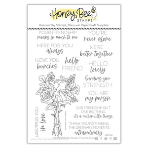 Honey Bee - LOVE YOU BUNCHES - Stamps set