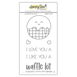Honey Bee - A WAFFLE LOT - Stamps Set