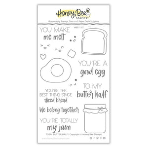 Honey Bee - TO MY BUTTER HALF - Stamps set