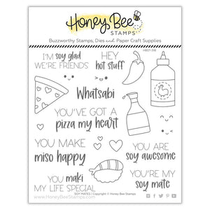 Honey Bee - SOY MATES - Stamps set