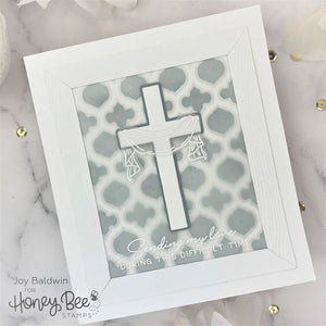 Honey Bee - OLD RUGGED CROSS - Stamps Set