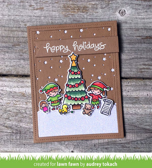 Lawn Fawn - HOLIDAY HELPERS Stamp Set