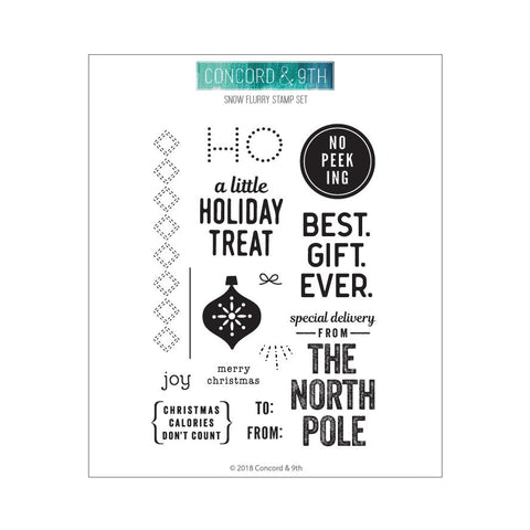 Concord & 9th - HOLIDAY CHEER TAGS Stamps set