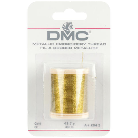 DMC - Metallic Embroidery Thread - GOLD - Hallmark Scrapbook
