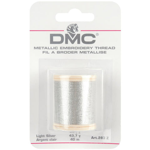 DMC - Metallic Embroidery Thread - SILVER - Hallmark Scrapbook