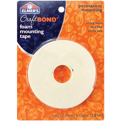 Elmers - Craft Bond - FOAM MOUNTING TAPE - Hallmark Scrapbook