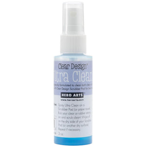 Hero Arts - Ultra Clean Spray - 2oz - Hallmark Scrapbook