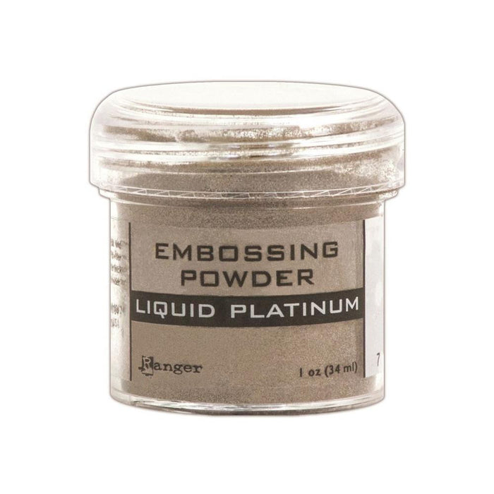 Ranger - Embossing Powder - LIQUID PLATINUM 1oz.