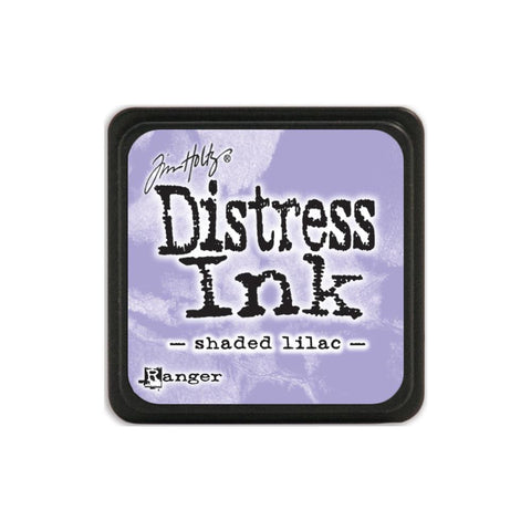 Tim Holtz Ranger Distress MINI Ink Pad - Shaded Lilac - Hallmark Scrapbook