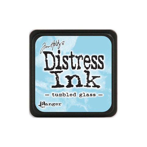 Tim Holtz Ranger Distress MINI Ink Pad - Tumbled Glass - Hallmark Scrapbook
