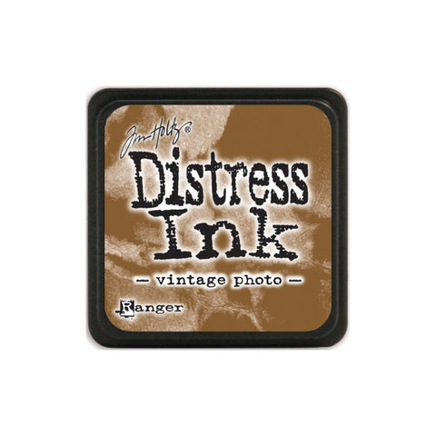 Tim Holtz Ranger Distress MINI Ink Pad - Vintage Photo - Hallmark Scrapbook
