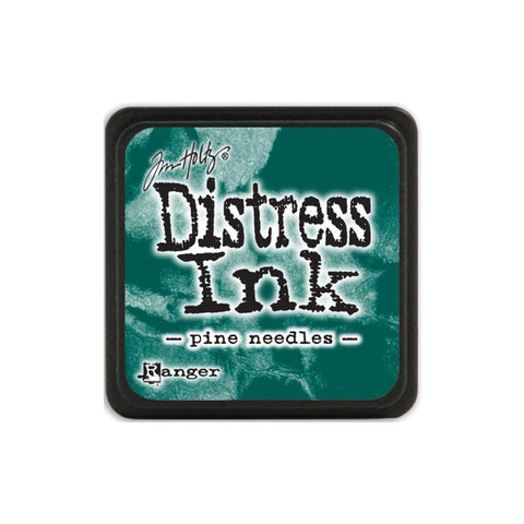 Tim Holtz Ranger Distress MINI Ink Pad - Pine Needles - Hallmark Scrapbook
