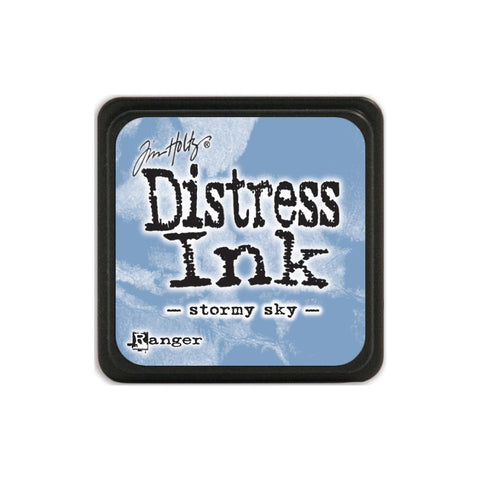 Tim Holtz Ranger Distress MINI Ink Pad - Stormy Sky - Hallmark Scrapbook