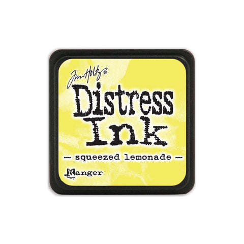 Tim Holtz Ranger Distress MINI Ink Pad - Squeezed Lemonade - Hallmark Scrapbook