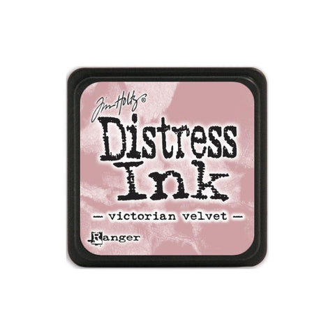 Tim Holtz Ranger Distress MINI Ink Pad - Victorian Velvet - Hallmark Scrapbook