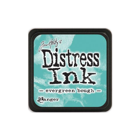 Tim Holtz Ranger Distress MINI Ink Pad - Evergreen Bough - Hallmark Scrapbook
