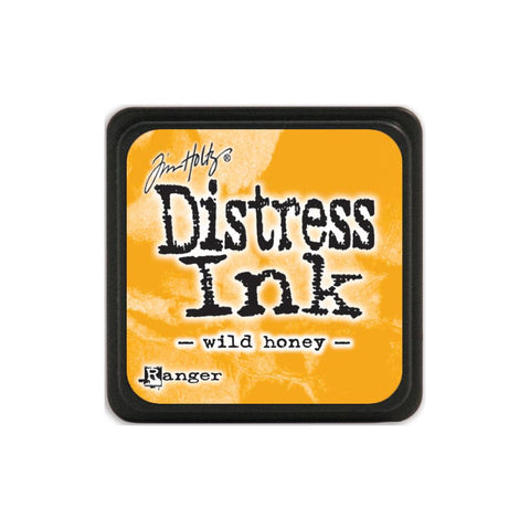 Tim Holtz Ranger Distress MINI Ink Pad - Wild Honey - Hallmark Scrapbook