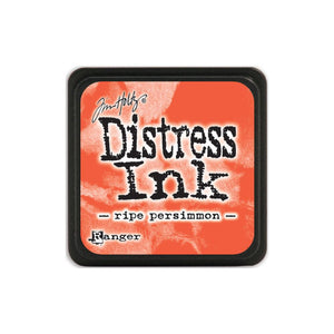 Tim Holtz Ranger Distress MINI Ink Pad - Ripe Persimmon - Hallmark Scrapbook